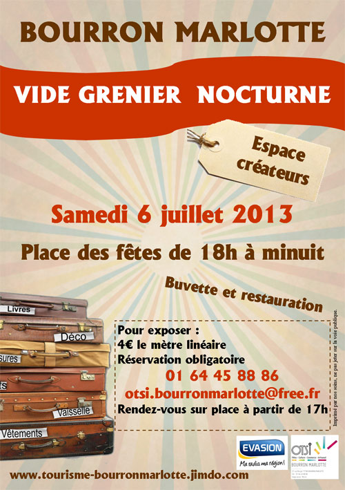 Events and trips in seine et marne vide grenier nocturne - Vide grenier en seine et marne ...