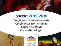 Programme Université Inter-âge 2015/2016