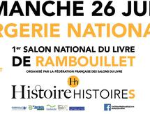 1er salon national du livre de Rambouillet
