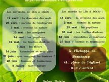 Ateliers nature - Sonchamp