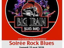 Soirée Rock Blues par Big Train Blues Band - Les Impériales