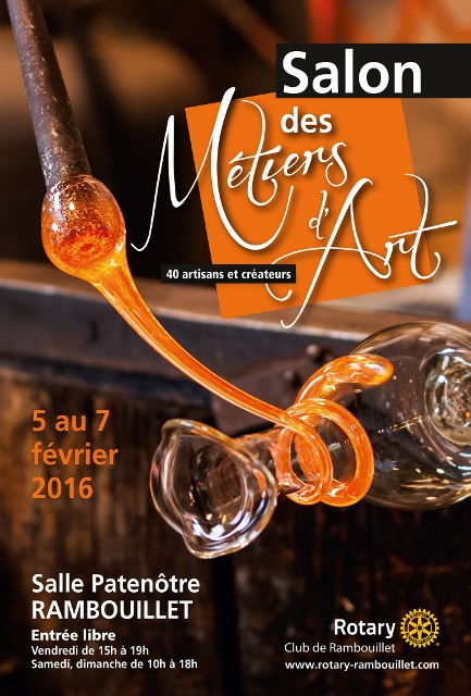 Salon des m tiers d 39 art rambouillet for Salon rambouillet