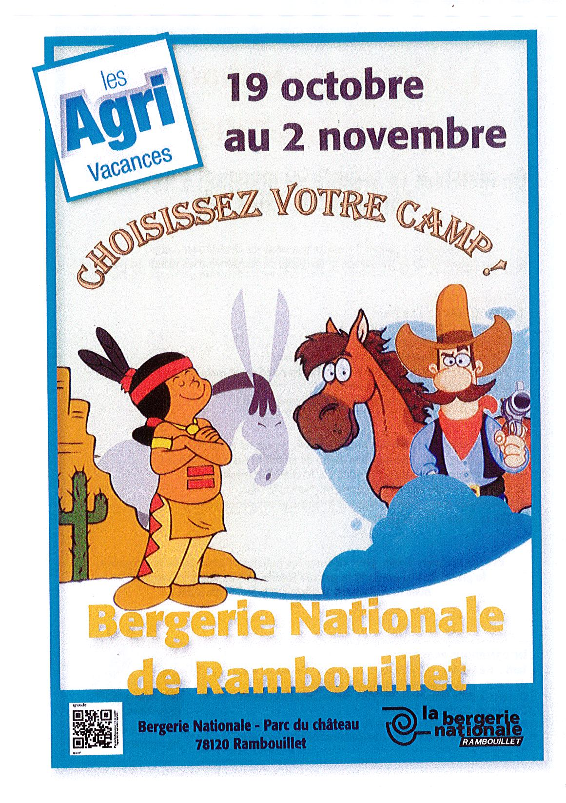 Les agri vacances bergerie nationale - Buffalo grill rambouillet ...